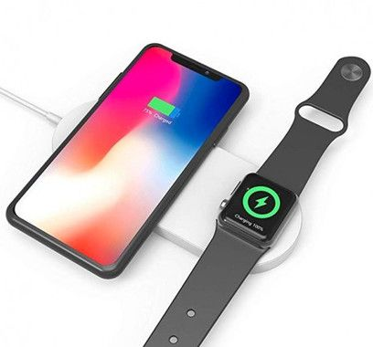 Devia 2-in-1 Wireless Charger