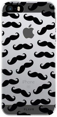 Flavr iPlate Moustaches Case (iPhone 5/5S/SE)