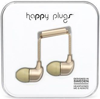 Happy Plugs In-Ear - champagne