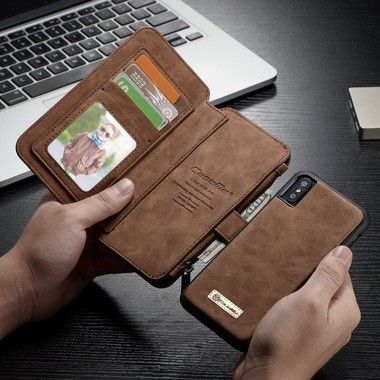 CaseMe Leather Wallet 14 (iPhone X/Xs)