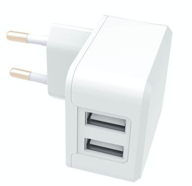 Essentials Dual Wall Charger 3,4A