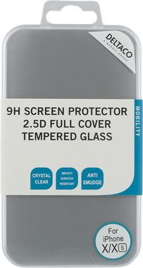 Deltaco 9H Screen Protector 2.5D (iPhone X/Xs)