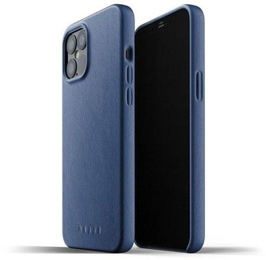 "Mujjo Full Leather Case (iPhone 12 6,7"")"