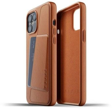 "Mujjo Full Leather Wallet Case (iPhone 12 6,7"")"