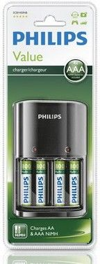 Philips Multilife Batteriladdare AAA