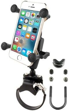 RAM Mount X-Grip med Fäste för ATV/UTV-styre (iPhone)