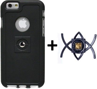 Tetrax XCase Bundle (iPhone 6) - svart