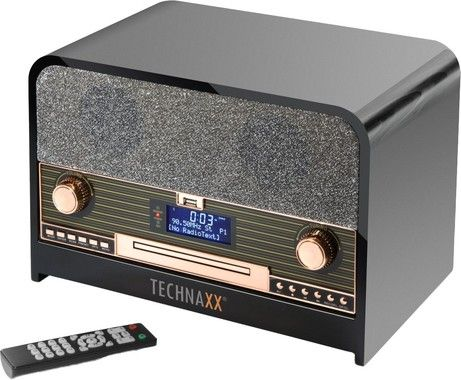 Technaxx Retro Bluetooth Dab+/FM Stereo