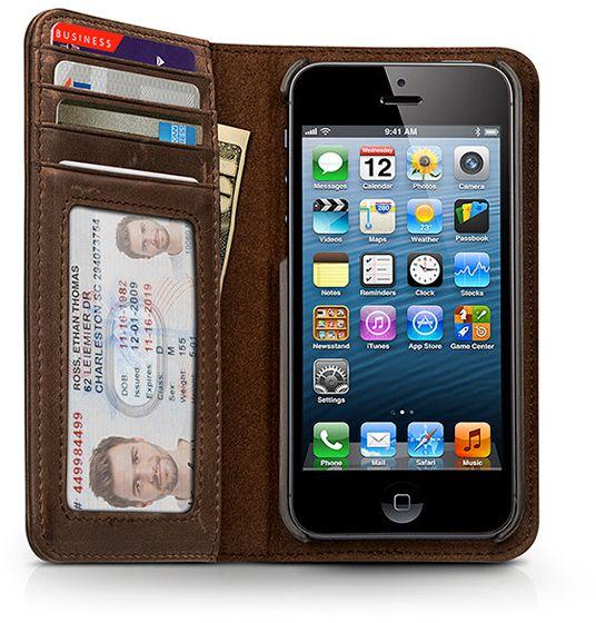 Köp Twelve South BookBook (iPhone 5 5S SE) - iPhonebutiken.se 3cb849a1c2aa4