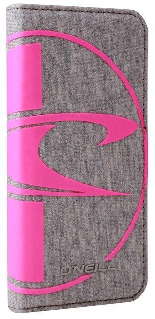 O'Neill Neoprene Booklet (iPhone 6/6S) - Grå/rosa