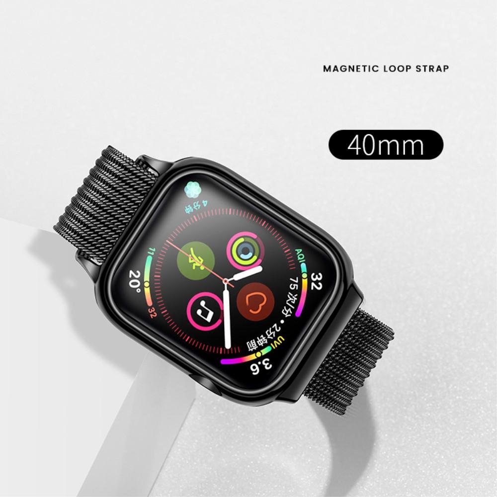 Usams Magnetic Loop Strap (Watch 40 mm) - Svart