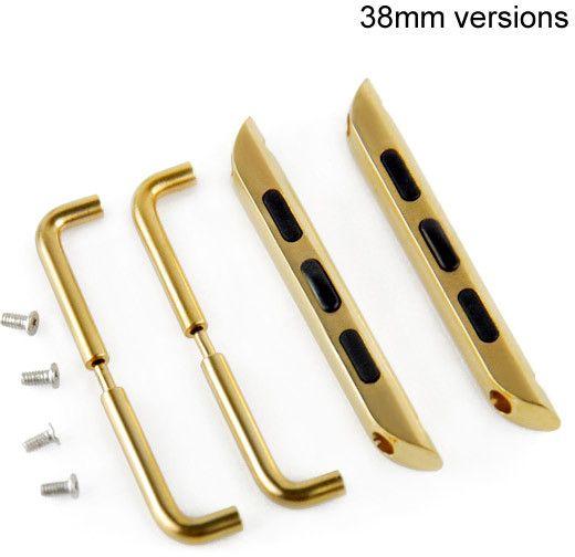 Adapter till armband (Apple Watch 38 mm) – Guld