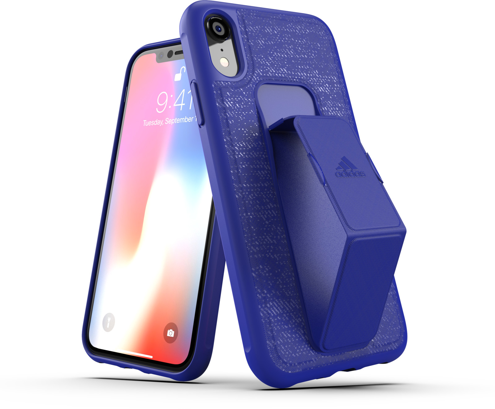 Adidas Grip Case FW18 (iPhone Xr) - Blå