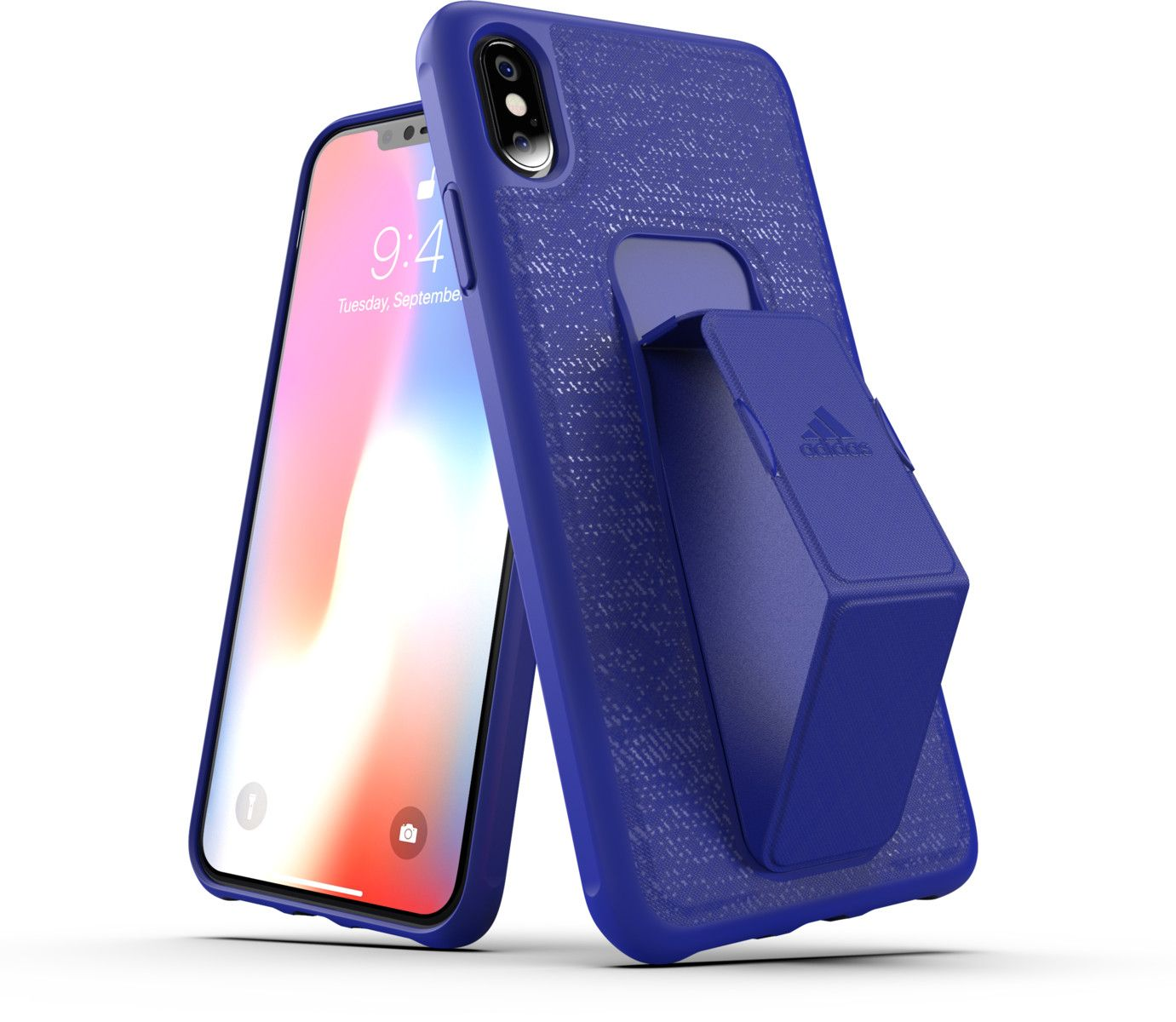 Adidas Grip Case (iPhone Xs Max) - Blå