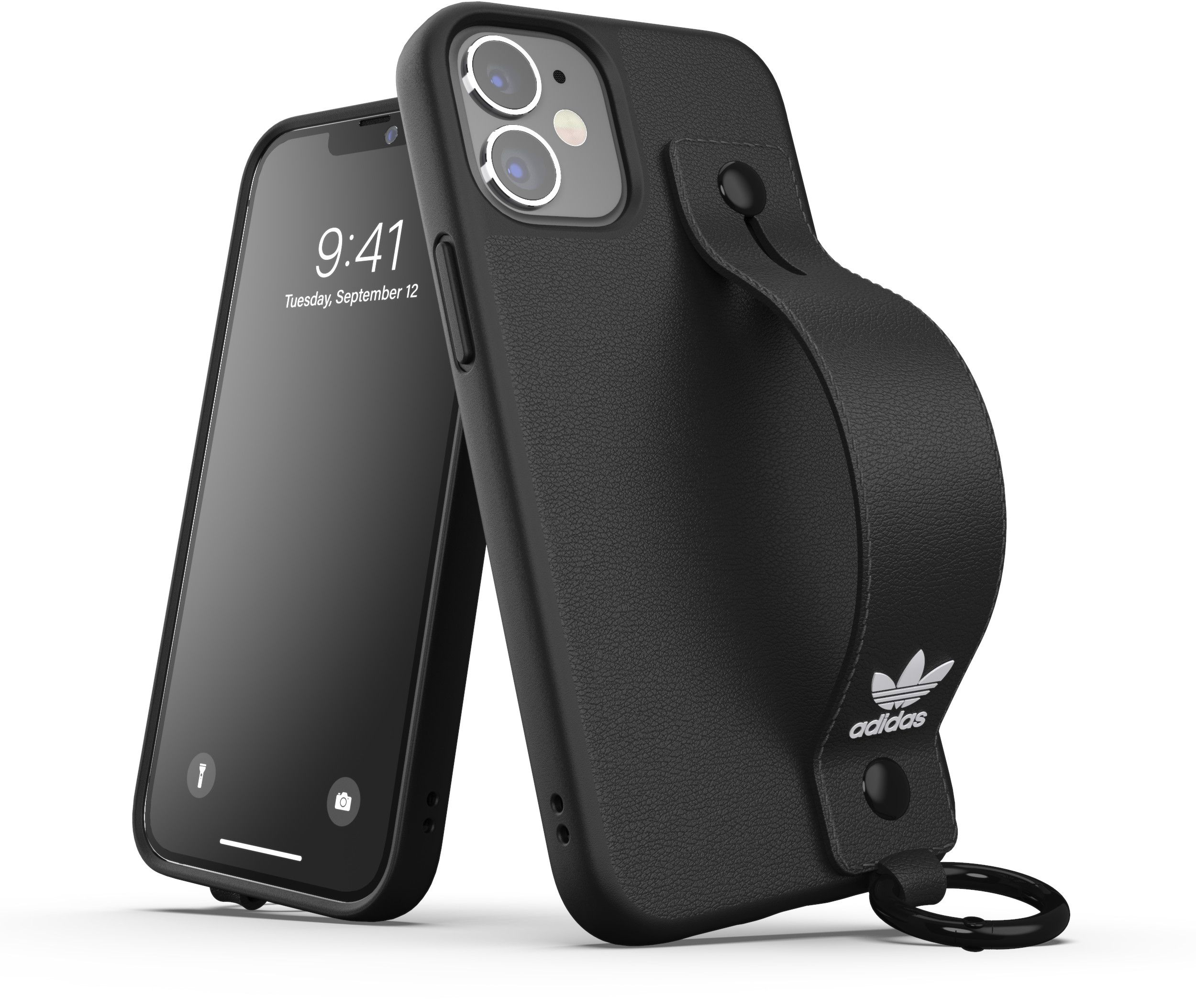 Adidas OR Hand Strap Case (iPhone 12 mini) - Rosa