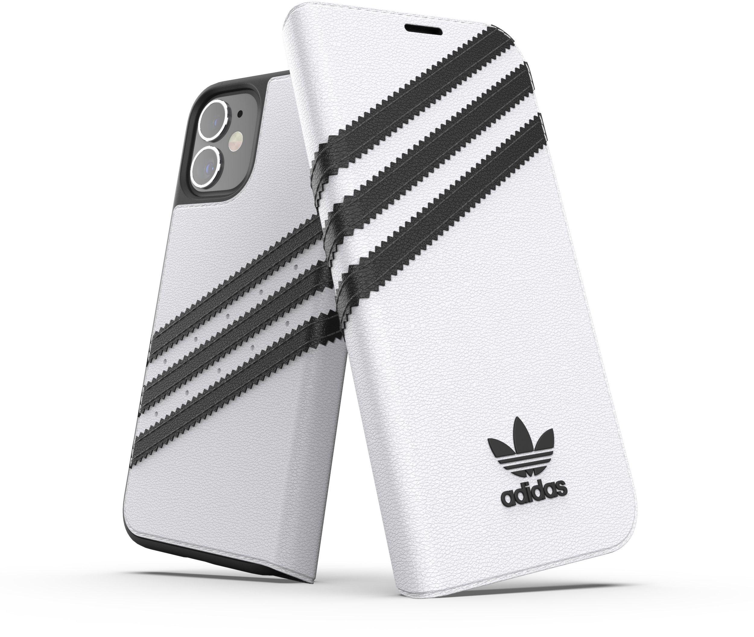 Adidas OR Original Booklet Case (iPhone 12 mini) - Svart/vit