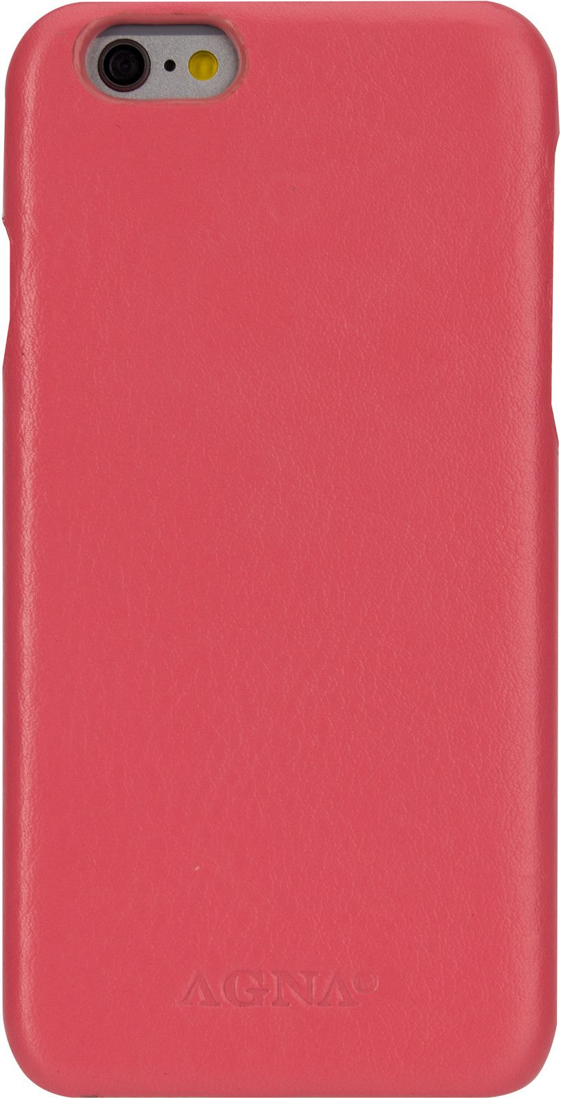 Agna iPlate Real Leather (iPhone 6/6S) - Rosa