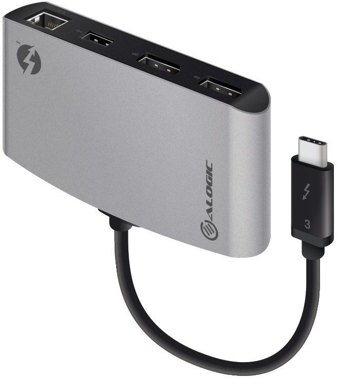 Alogic Thunderbolt 3 Dual DisplayPort with 4K