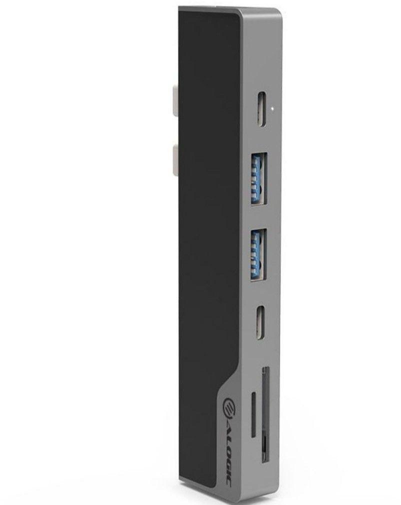 Alogic USB-C MacBook Dock Nano Gen 2 - Grå