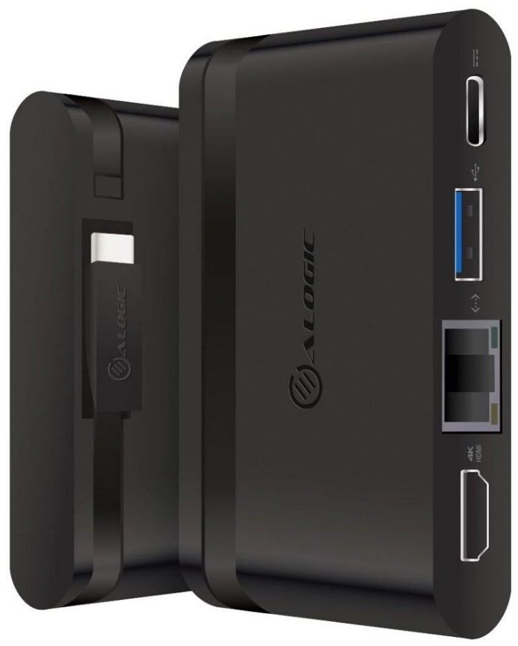 Alogic USB-C Travel Dock Essential With Power Delivery