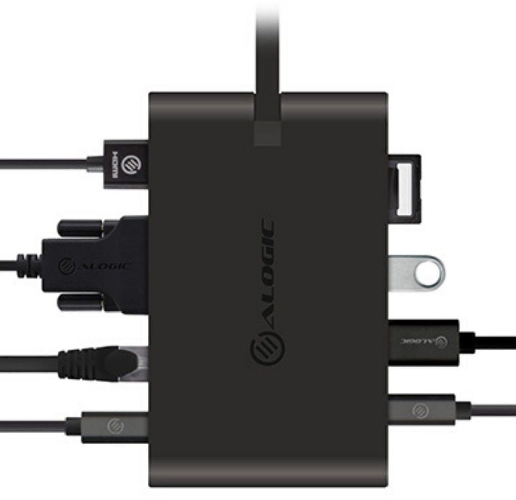 Alogic USB-C Travel Dock Pro With Power Delivery