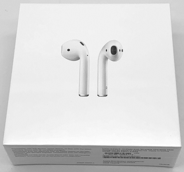 Apple AirPods 2 med Trådlöst Laddningsetui
