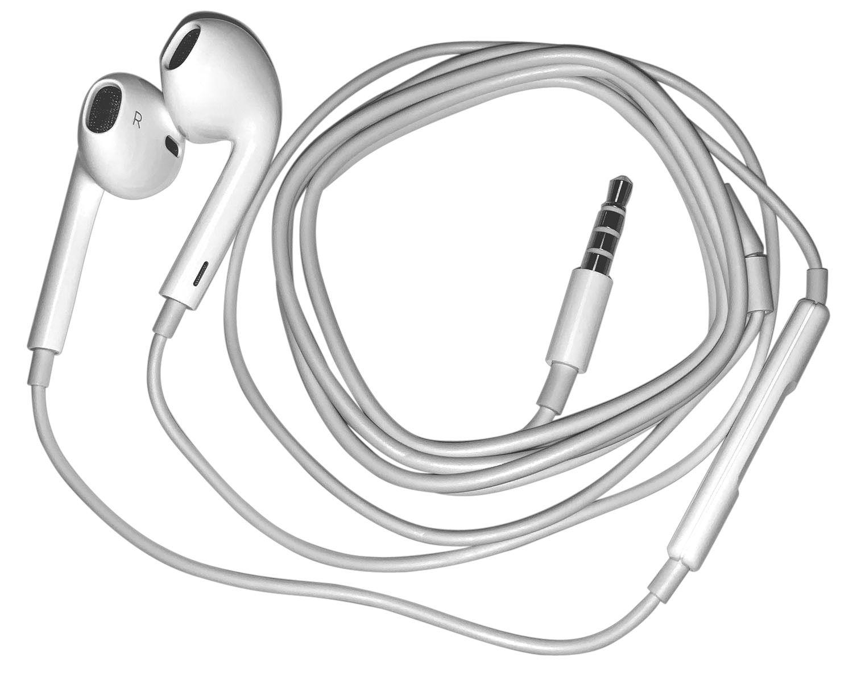 Apple EarPods med fjärrkontroll och mikrofon