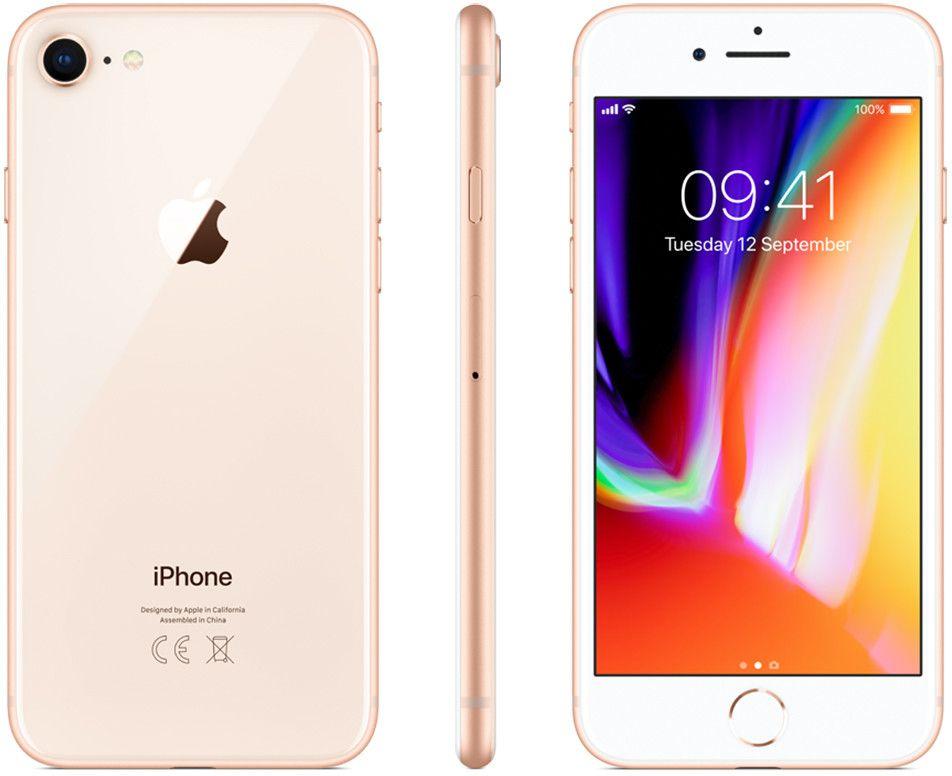 Apple iPhone 8 - 256GB Guld