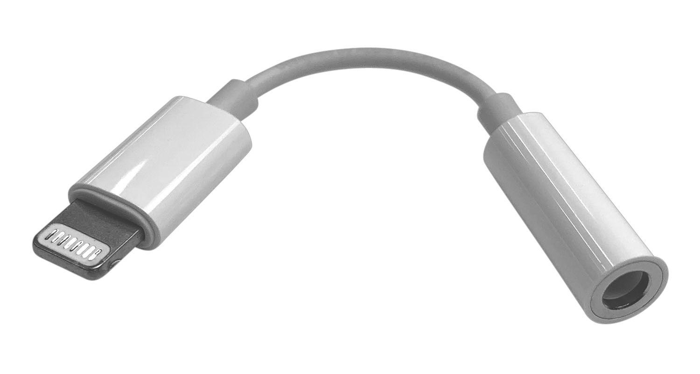 Apple Lightning till 3,5 mm-adapter för hörlurar
