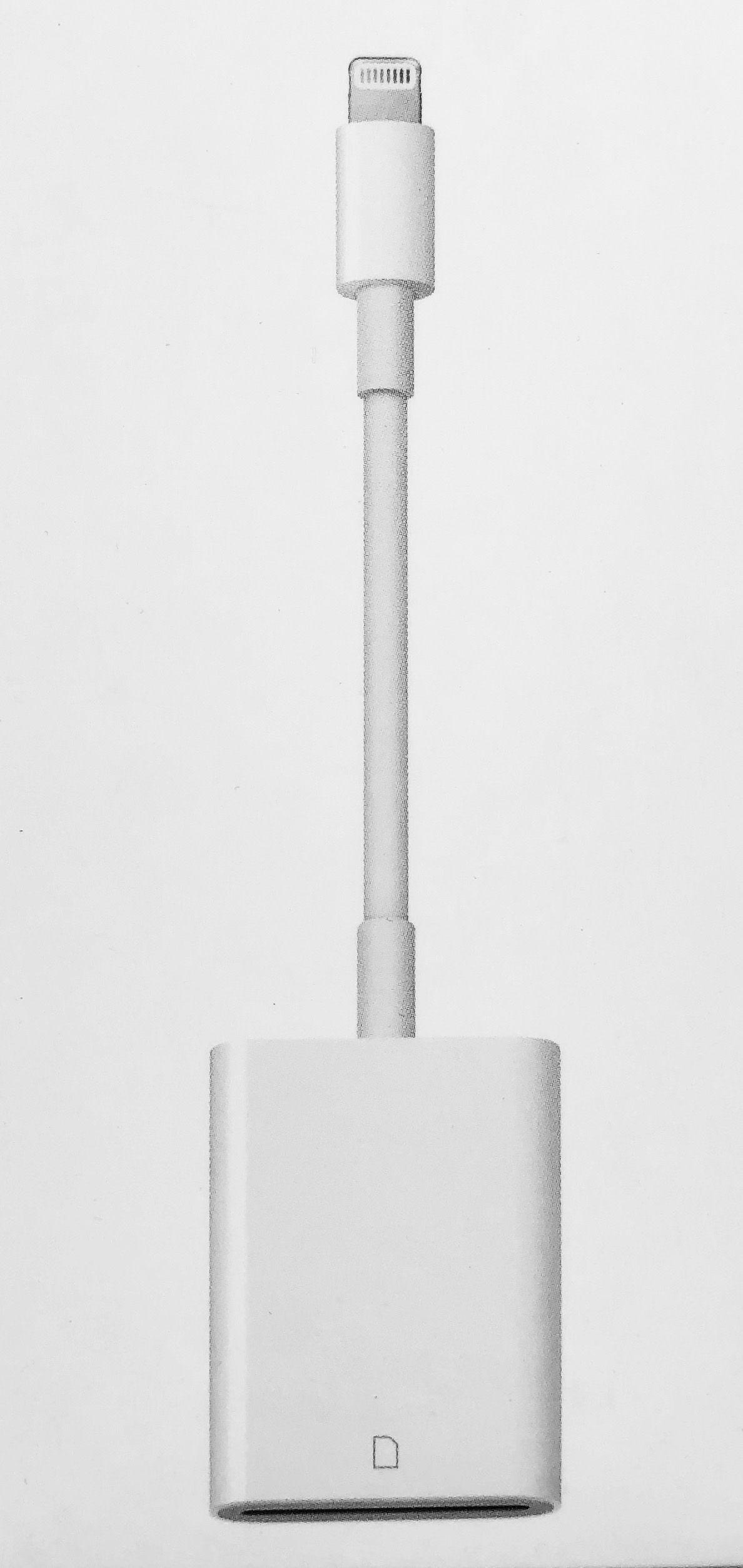 Apple Lightning-till-SD-kamerakortläsare