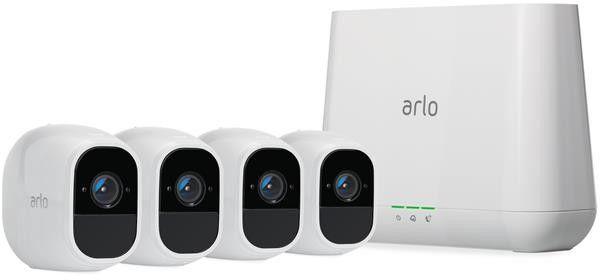 Arlo Pro 2 1080p Wirefree 4 Camera System VMS4430P