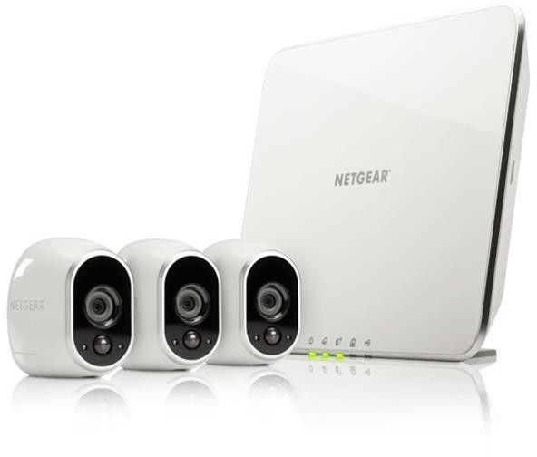 Arlo Security System with 3 HD Camera VMS3330