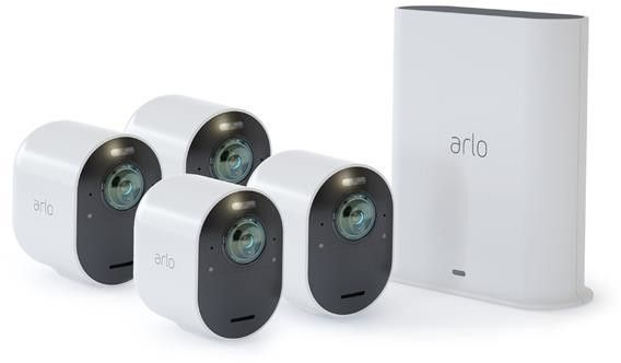 Arlo Ultra 4k UHD Wirefree 4 Camera System VMS5440