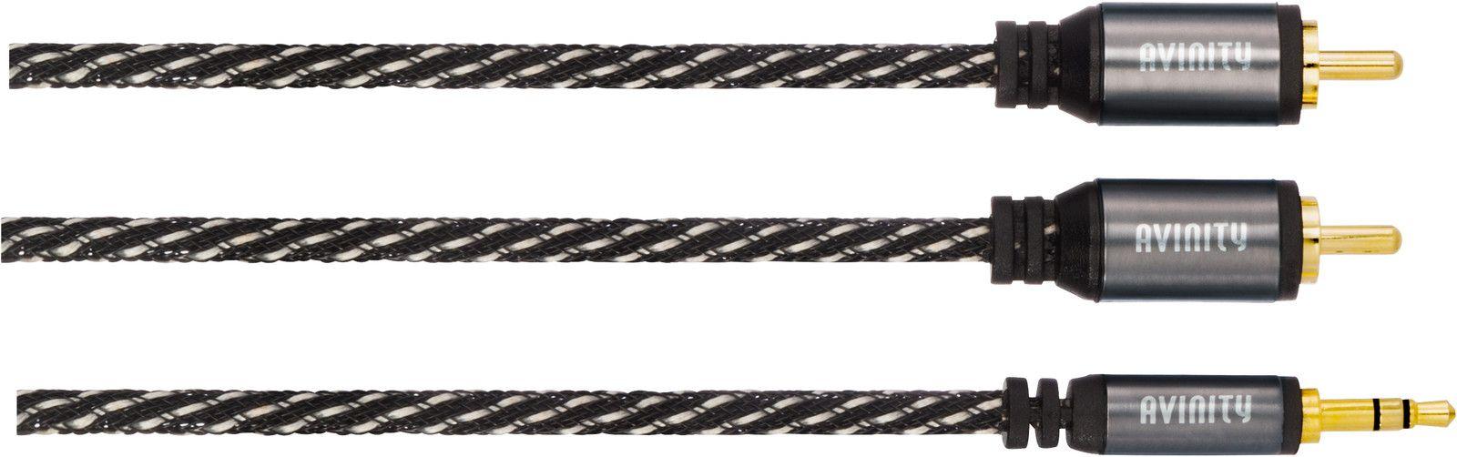 Avinity 2xRCA-3,5mm - 0,5m