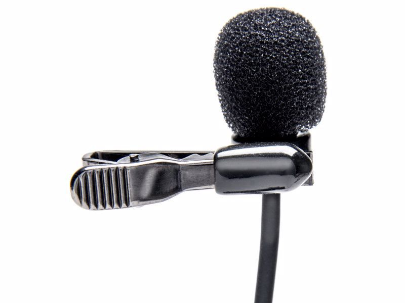 Azden Wired Lapel Microphone Ex-503+i