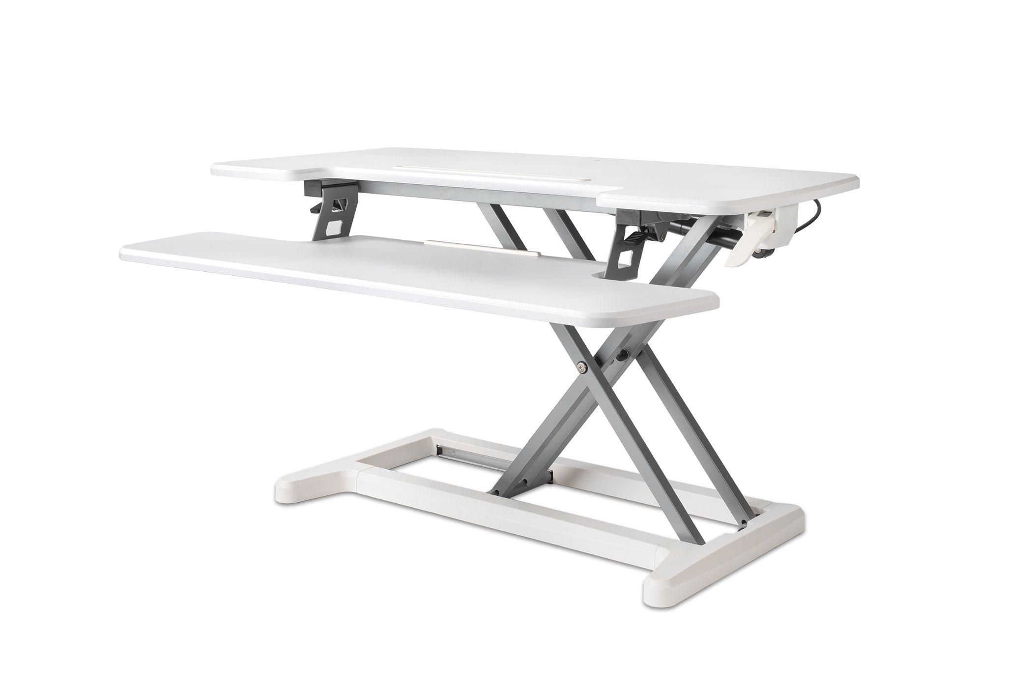 BakkerElkhuizen Adjustable Sit-Stand Desk Riser 2 - Svart