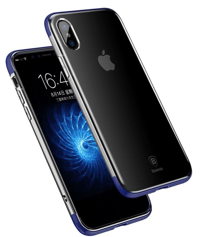 Baseus Armor Case (iPhone X/Xs) - Blå