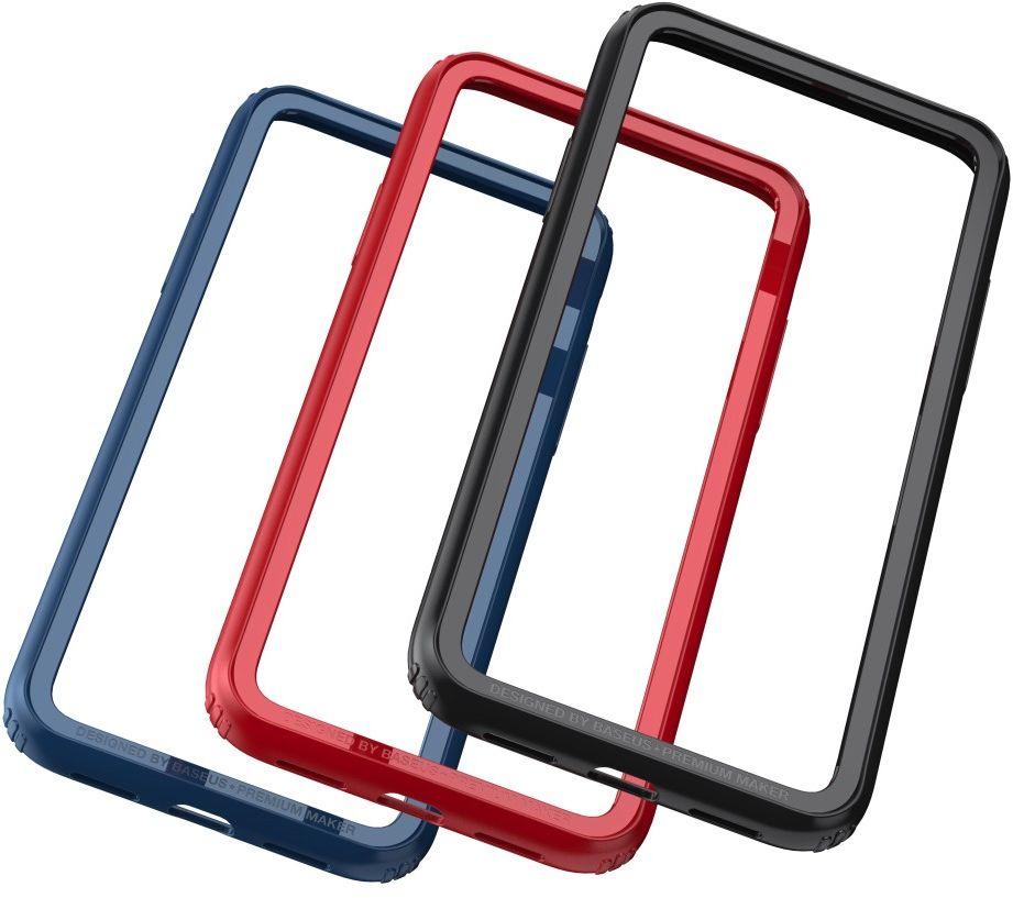Baseus Bumper (iPhone X) - Blå