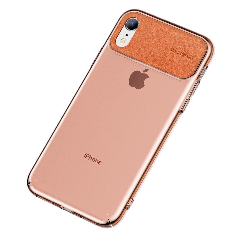 Baseus Comfortable TPU Case (iPhone Xr) - Orange