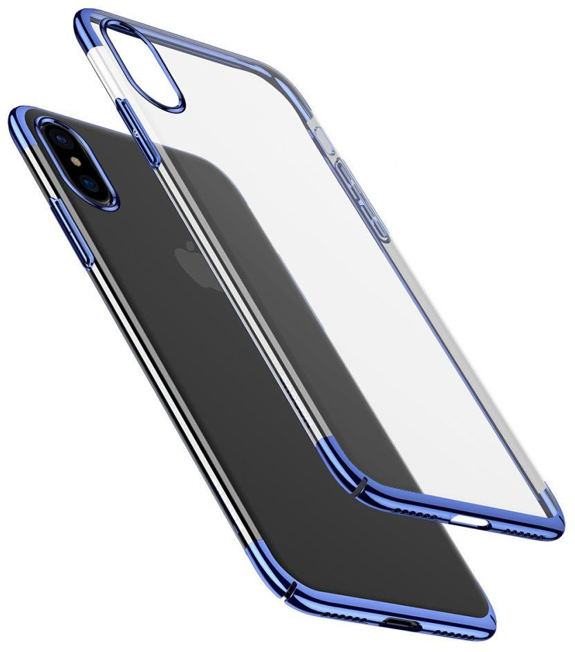 Baseus Glitter Case (iPhone X) - Svart