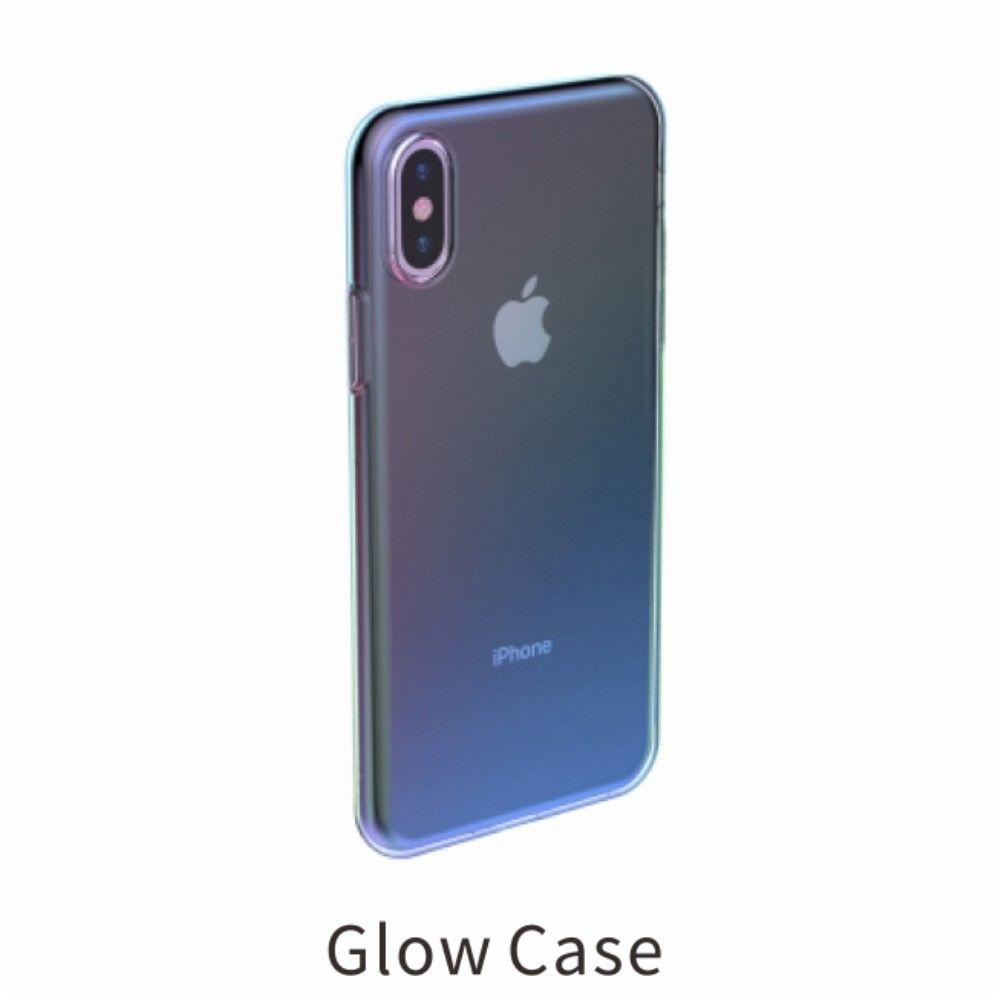 Baseus Glow Case (iPhone Xs Max) - Rosa