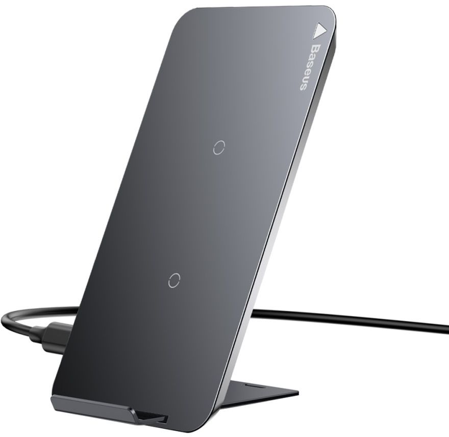 Baseus Qi Charging Stand (iPhone) - svart