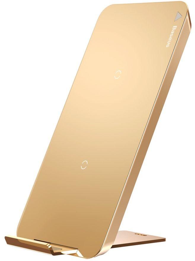 Baseus Qi Charging Stand (iPhone) - Guld
