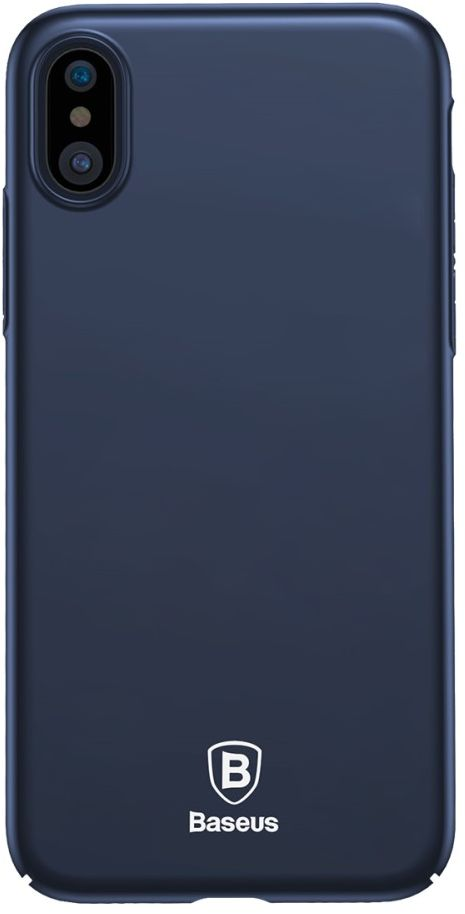 Baseus Thin Case (iPhone X/Xs) - Blå