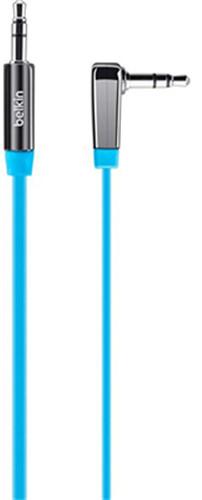 Belkin MixIt AUX Flat Cable - Svart