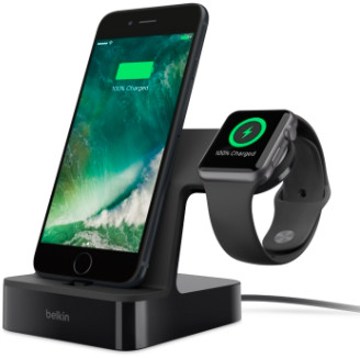 Belkin Powerhouse (Apple Watch/iPhone) - Svart