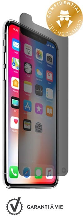 Bigben Force Glass Private with Installation Kit (iPhone X/Xs)