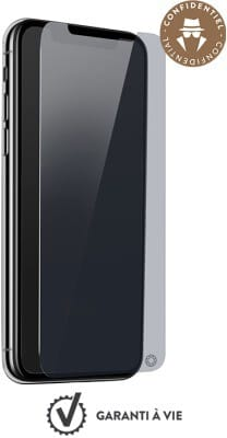 Bigben Force Glass Private with Installation Kit (iPhone Xr)