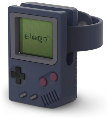Elago W5 Vintage Stand (Apple Watch) - Blå