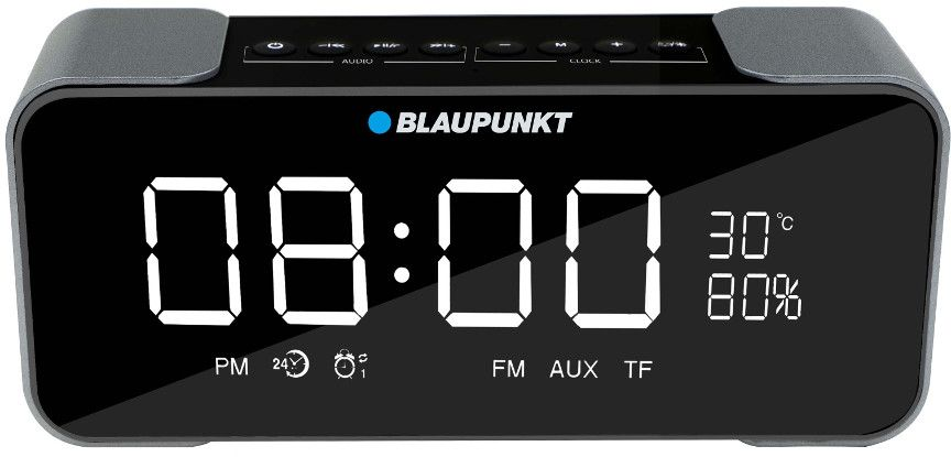 Blaupunkt BB16CLOCK Wireless Speaker with Radio and Alarm